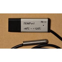 Temperatursensor med ekstern sensor